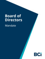Download our Board Mandate