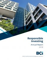 Responsible Investing Annual Report