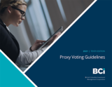 Download our Proxy Voting Guidelines